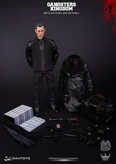 onesixthscalepictures: DAM Toys Gangsters Kingdom SPADE 7 : Latest product news for 1/6 scale figures (12 inch collectibles) from Sideshows Collectibles, Hot Toys, Medicom, TTL, Triad Toys, Enterbay and others.