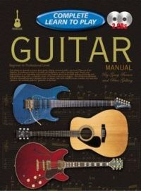 Complete Learn To Play Guitar Manual Book + 2 CDs. £17.95