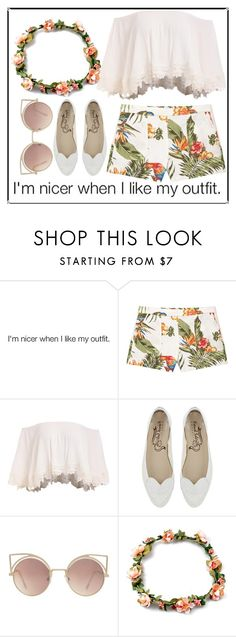 """""""I'm nicer when i like my outfit."""" by ines-lynch ❤ liked on Polyvore featuring MANGO"""