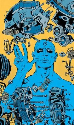 Doctor Manhattan by Paul Pope