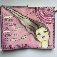 Art journal of anja waage