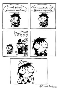 Anybody who's familiar with the comics of Sarah Andersen will know how perfectly they summarize the daily struggles of modern life, especially when it comes to Sarah Anderson Comics, Sara Anderson, Cute Comics, Funny Comics, Saras Scribbles, Sarah See Andersen, Funny Cute, Hilarious, 4 Panel Life