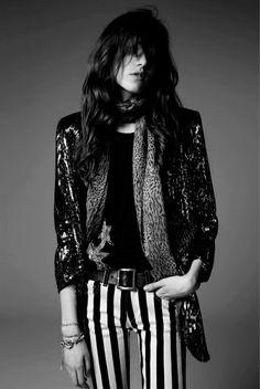 """Slimane carga de """"Psych Rock"""" su colección para Saint Laurent - ES - Blog Models Of The World"""
