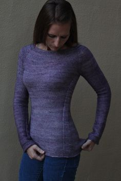 Ravelry: Sutra Knitting Pattern by Justyna Lorkowska. Beyond in love with this pullover! Simple yet stunning