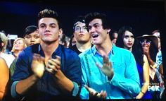 When you see your idols on TV for the first time!!!! Look how happy they look!!!!