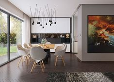 Projekt domu Agos 181,15 m² - koszt budowy - EXTRADOM Dream House Plans, Dining Table, Furniture, Houses, Corridor, Face, Home Decor, Interiors, Beauty