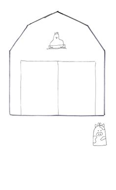 quiet book templates | Family History Quiet Book: Barn | Continually Creative