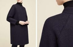 Cappotto oversize Cos - Dress coat minimal chic dalla collezione autunno inverno 2014 2015.