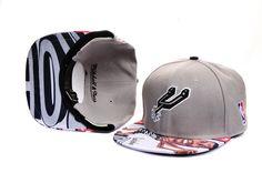 San Antonio Spurs David Robinson Caricature Strapback Hat (Grey) Mitchell And Ness Brand 112|only US$8.90