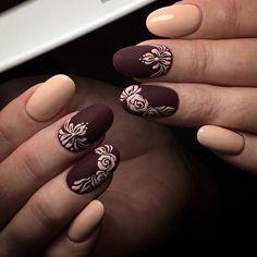 Новости Color For Nails, Love Nails, Nail Polish Designs, Nail Art Designs, Elegant Nail Art, Space Nails, 3d Nails, Winter Nails, Spring Flowers