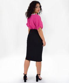 Φούστα Ελαστική Στενή   Vaya Fashion Boutique Women's Skirts, Midi Skirt, Fashion, Moda, Midi Skirts, Fashion Styles, Fashion Illustrations