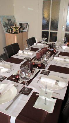 Tischdekoration - Schokolade Table decoration - chocolate