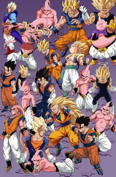 Dragonball Z Majin Buu Saga Dragon Ball Gt, Dragon Ball Z Shirt, Dragon Z, Buu Dbz, Goku Y Vegeta, Akira, Fan Art, Dbz Wallpapers, Anime Echii