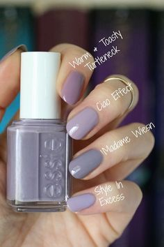 This is such a gorgeous shade of grey-purple! This polish first caught my eye on Instagram back in October of 2016. It was an exclusi...