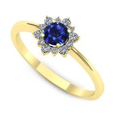 Inel logodna F91GSF Heart Ring, Sapphire, Aur, Rings, Jewelry, Fashion, Moda, Jewlery, Jewerly