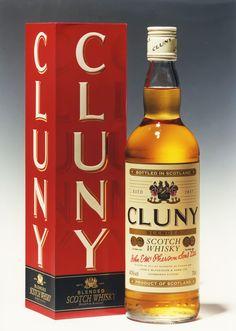 Cluny Scotch Whisky. Memento Linea