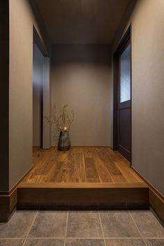 Japanese Home Design, Japanese Modern, Japanese Interior, Japanese House, Tv Wall Design, Art Deco Design, Tile Design, House Design, Interior Decorating