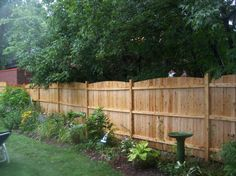 Backyard Privacy Fence Images : Design Backyard Privacy Fence U2013 Outdoor  Design And Ideas