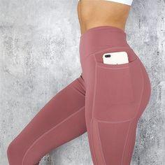 Pocket Solid Sport Yoga Pants High Waist Mesh Sport Leggings Fitness Women Yoga Leggings Training Running Pants Sportswear Women Mesh Leggings, Sports Leggings, Women's Leggings, Printed Leggings, Cheap Leggings, Leggins Casual, Casual Pants, Up Fitness, Fitness Women