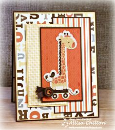 Rocky Mountain Paper Crafts-Created with the NEW Babycakes line by Close To My Heart-Available to order 8/1/13!
