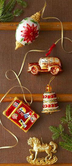 Sparkling Noel Ornament Collection from Pier 1