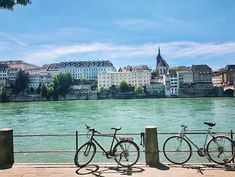 where to eat in basel rhine bicycles Best Places To Eat, Basel, Bicycles, Switzerland, The Good Place, Europe, Drinks, Viajes, Drinking