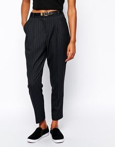 River Island Pinstriped