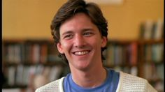 Cutest smile of the 80's <3 Andrew McCarthy as Blane - Pretty in Pink
