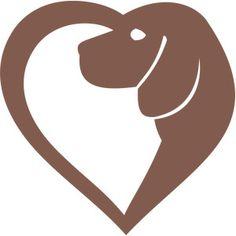 Silhouette Design Store - View Design #173233: beagle heart