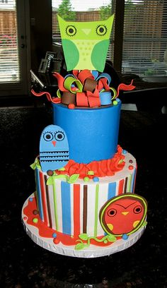 Baby Shower Owls and Birds | Flickr - Photo Sharing!
