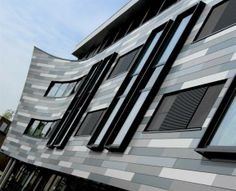 nl - RockVent W-ES: advies op maat - Rockpanel - Rockwool B. Mix Use Building, Cladding, Blinds, Colours, Windows, Image, Buildings, Commercial, Building Products