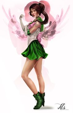 Sailor Jupiter by Regochan.deviantart.com on @deviantART