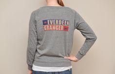Size Medium women's EVERDEEN GRANGER 2012 Election Lightweight Pullover. $20.00, via Etsy.
