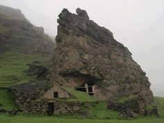 Abandoned cottage in Iceland.