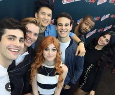 Shadowhunters! One happy family