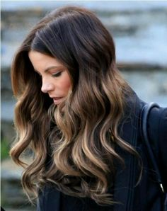 Balayge or Ombre w/brunette finish