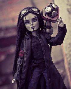 Monster High Repaint, Monster High Dolls, Monster Boy, Doll Head, Doll Face, Monster High Custom, Gothic Dolls, Doll Painting, Creepy Dolls