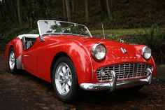 My favorite classic car...the TR3! I want to own this one day!