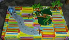 Geschenke basteln aus Schuhkarton- bekleben und verzieren....