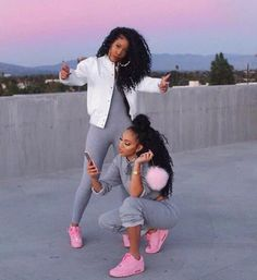 pink sneakers all grey everything bomber jacket white crop tops bun