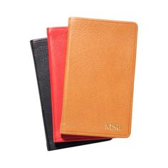 Personalized Traditional Leather Pocket Notebook