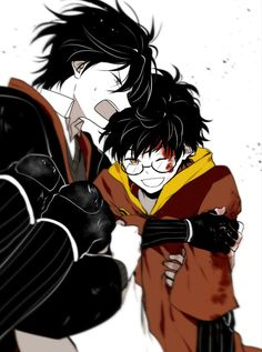 Sirius Black x James Potter Fanart Harry Potter, Harry Potter Toms, Harry Potter Drawings, Harry Potter Ships, Harry Potter Universal, Harry Potter Hogwarts, Harry Potter World, Harry Potter Jk Rowling, Drarry