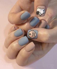 fashion fake nails press girl finger beauty fake plastic nails nail art full coverage fake nail art tips Nail Art – Page 3 – Nana's Corner Beauty Cosmetic Cute Nail Art, Nail Art Diy, Diy Nails, Food Nail Art, Korean Nail Art, Korean Nails, Minimalist Nails, Nail Swag, Snoopy Nails