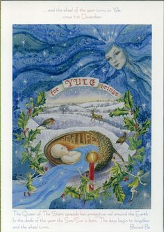 Goddess Wheel of the Year - Yule/Winter Solstice