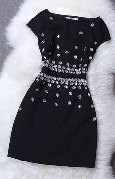 Sexy stitching dress