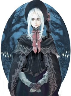 See more 'Bloodborne' images on Know Your Meme! Bloodborne Characters, Bloodborne Art, Fantasy Characters, Female Characters, Dark Blood, Old Blood, Dark Souls, Demon's Souls, Fantasy Girl
