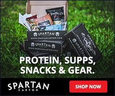 Get fit with Spartan Carton! Join now and save 10% off your 1st box of protein, supps, snacks and gear! http://www.findsubscriptionboxes.com/coupons/spartan-carton-coupon-save-10off/?utm_campaign=coschedule&utm_source=pinterest&utm_medium=Find%20Subscription%20Boxes&utm_content=Spartan%20Carton%20Coupon%3A%20Save%2010%25%20Off%20Your%201st%20Box (Exp. 8/30/17)  #SpartanCarton