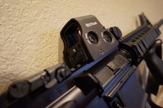 new #eotech xps20 #optic on the #colt #AR-15 #rifle . #gunsense #2ndamendment