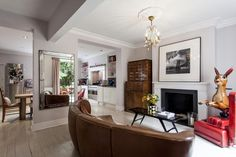 Cool people live in cool houses... Primrose Hill by Iris Thorsteinsdottir