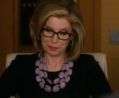 wardrobe of diane lockhart the good wife